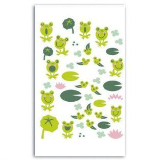 Felt Stickers - Frogs