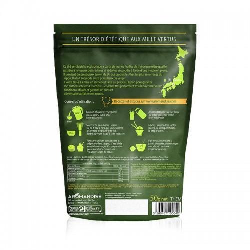 Organic Matcha green tea powder 50 g
