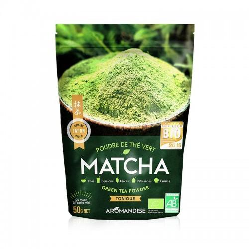 Polvo de té verde orgánico japonés Matcha 50 g
