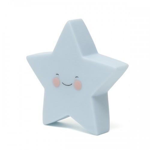 Child's Night Light - blue star