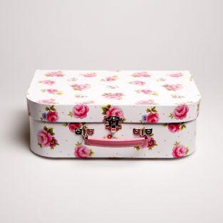 Tea set suitcase - Pink