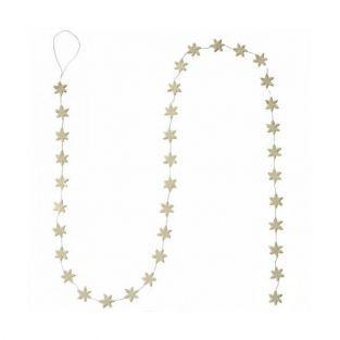 Guirnalda Estrellas 1,50 m - blanco
