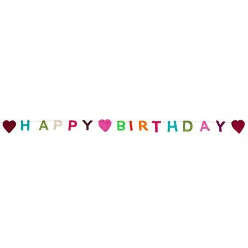 Guirlande Happy Birthday 1,50 m