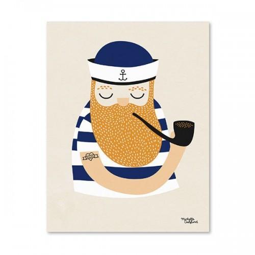 Sailor Poster - A4