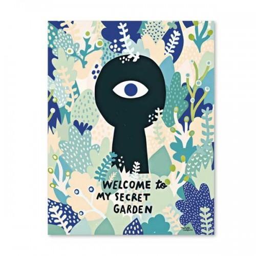 Affiche Welcome to my secret garden - A3