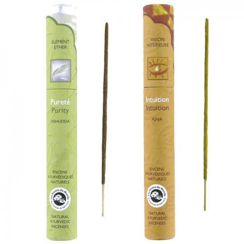 Ayurvedic incense 32 sticks - Purity & Intuition