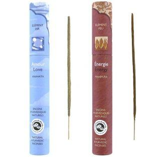 Ayurvedic incense 32 sticks - Energy & Love