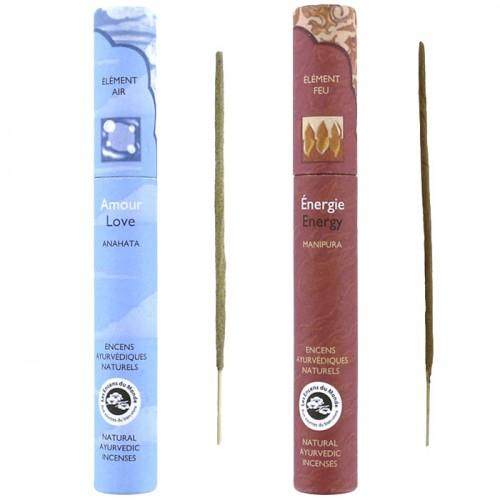 Ayurvedic incense 32 sticks - Energy & Love