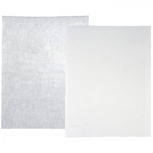 Shrink Plastic Kit - 10 white and frosted sheets