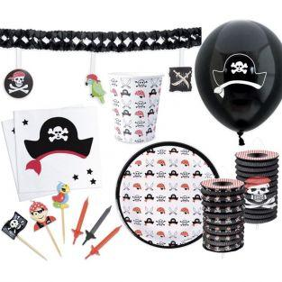 Kit vaisselle anniversaire Pirate