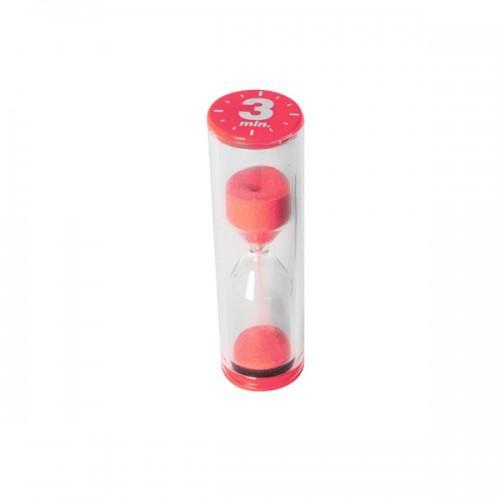 Red Hourglass 3 minutes - Dexam