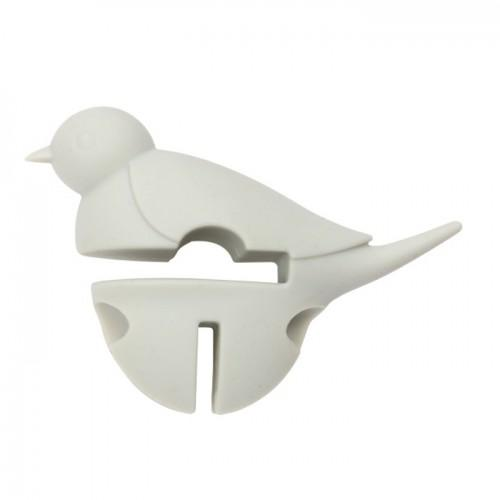 Repose cuillère Petit oiseau blanc 3 en 1 - Dexam