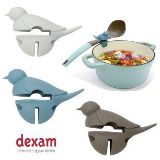 Spoon rest Small white bird 3 in 1 - Dexam