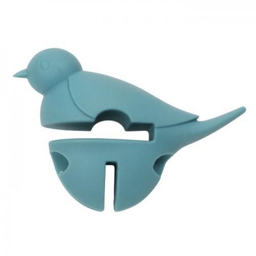 Repose cuillère Petit oiseau bleu 3 en 1 - Dexam