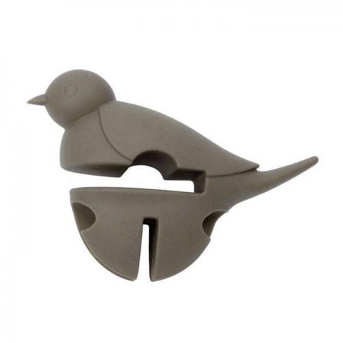 Repose cuillère Petit oiseau gris 3 en 1 - Dexam