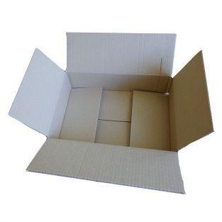10 cajas de cartón 31 x 21 x 7,5 cm