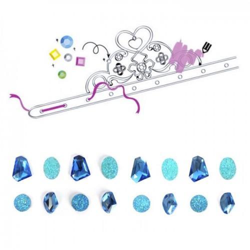 coffret diy diad mes de princesses pierres pr cieuses bleues. Black Bedroom Furniture Sets. Home Design Ideas