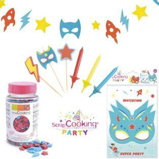 Superhero Birthday Kit