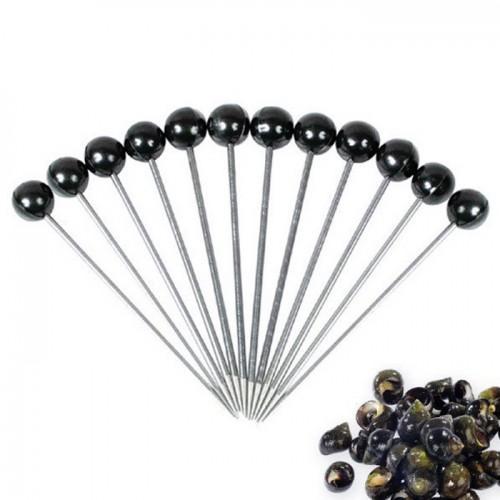Piques à bigorneaux x 10 - Noir