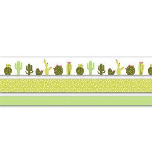3 masking tapes Cactus ( 2 cm / 1,5 cm / 1 cm) x 5 m