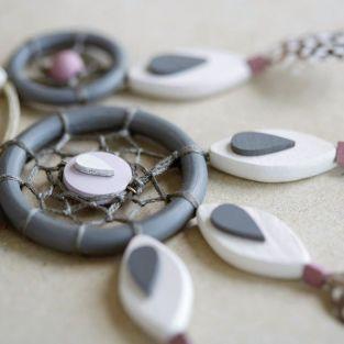 8 perles en bois pétales 30 x 15 mm