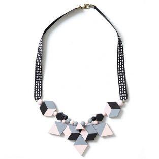 15 perles en bois hexagonales 20 x 3 mm