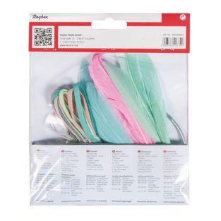 Kit DIY Attrape-rêves pastel (bleu et rose)