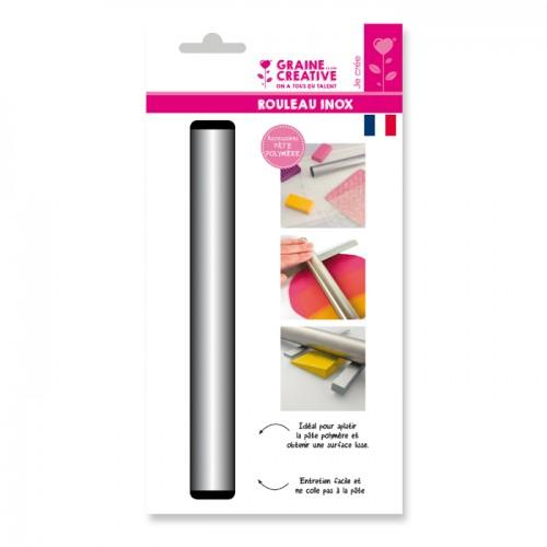 Roller 21 cm for FIMO - Stainless steel