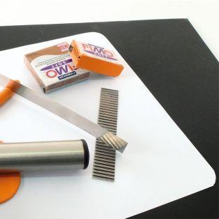Tapis de modelage pour pâte polymère 23 x 33 cm