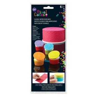 Wilton Pastry flexible impression mats - Pixels