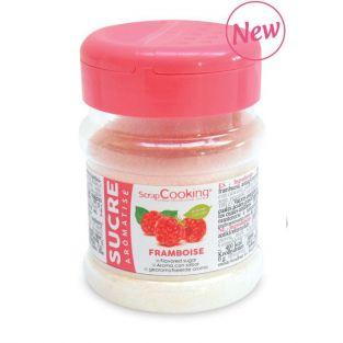 Sucre aromatisé framboise 170 g