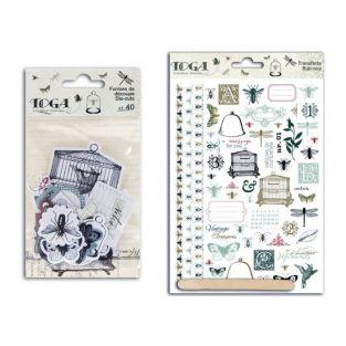Cabinet of curiosities Cut-outs & Decals kit