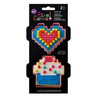 Wilton Cookie Cutter set - Pixels
