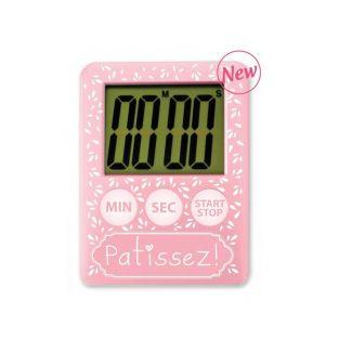 Reloj de cocina electrónico - Rosa