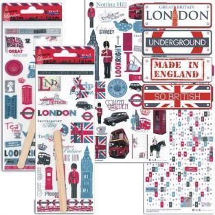 London & United Kingdom Decoration kit