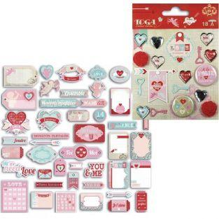 Madness Cut-outs & embellishments kit