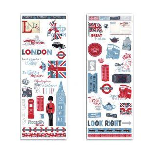 2 London & UK decals