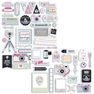 Kit 64 formes découpées Photographie Clic Clac