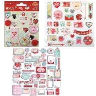 Madness Die-cuts & stickers kit