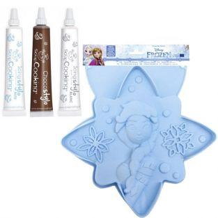 Frozen Star Cake Mold + Icing Kit