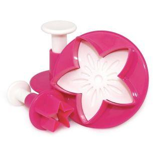 Sugarcraft cutters star leaf flower