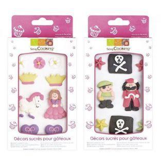 Décors sucrés Pirates & Princesses