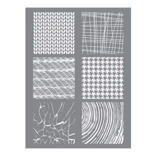 Plantilla 11,4 x 15,3 cm para arcilla de polímero - Material