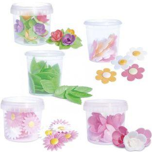 Leaves & Flowers Wafer kit
