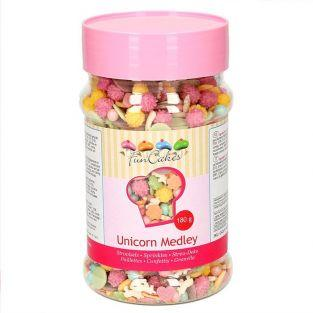 Sweet decorations Unicorn and mix - 180 g