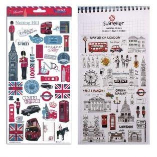 Kit de stickers Londres