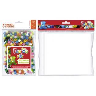 500 perles à repasser + feuille de repassage A4