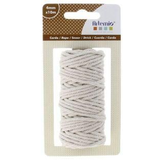 Cotton twine for macrame 10 m- Beige