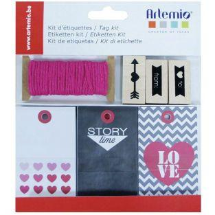 Kit de etiquetas amor
