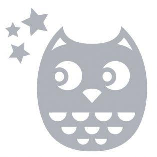 Thinlits Cutting die for Sizzix - Owl baby girl birth